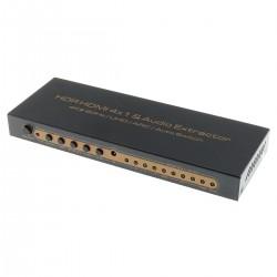 Extracteur Audio HDMI 7.1 vers HDMI / Optique / Jack HDCP2.2 HDR 4K 60Hz ARC