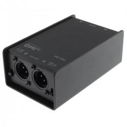 FGA-202 Stereo Line Transformer Ground Loop XLR / Jack 6.35mm