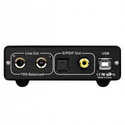 TOPPING D10B Balanced USB DAC ES9038Q2M XMOS XU208 32bit 384kHz DSD256