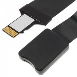 ADT-LINK Rallonge Micro SD Mâle vers Micro SD Femelle Blindé 15cm