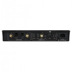 MUSICIAN AQUARIUS Balanced R2R DAC NOS I2S 32bit 1536kHz DSD1024 Black