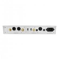 MUSICIAN AQUARIUS DAC R2R Symétrique NOS I2S 32bit 1536kHz DSD1024 Argent