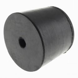 Pied Caoutchouc Amortissant à Visser 30x25mm (Unité)