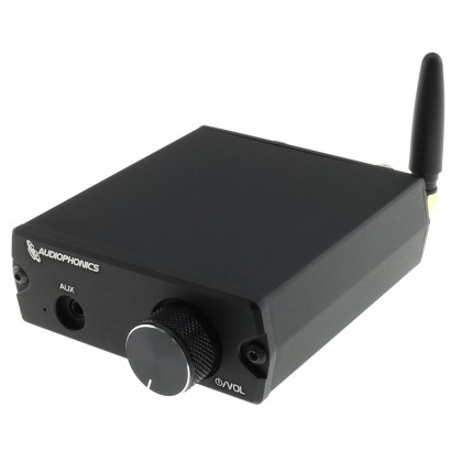 AUDIOPHONICS MA-S40 Class D Amplifier MA12040 Bluetooth 5.0 2x 30W 4 Ohm Black