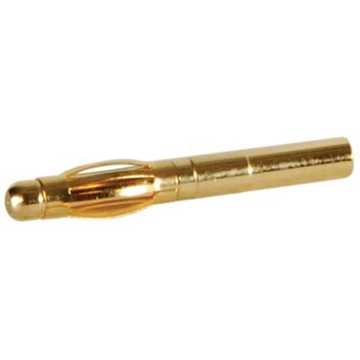 DAYTON AUDIO GOLD 16 Fiche Banane Plaquée Or à souder Ø2,5mm (Unité)