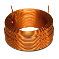 JANTZEN AUDIO 000-1937 4N Copper Air Core Wire Coil 17AWG 0.18mH 38x15mm