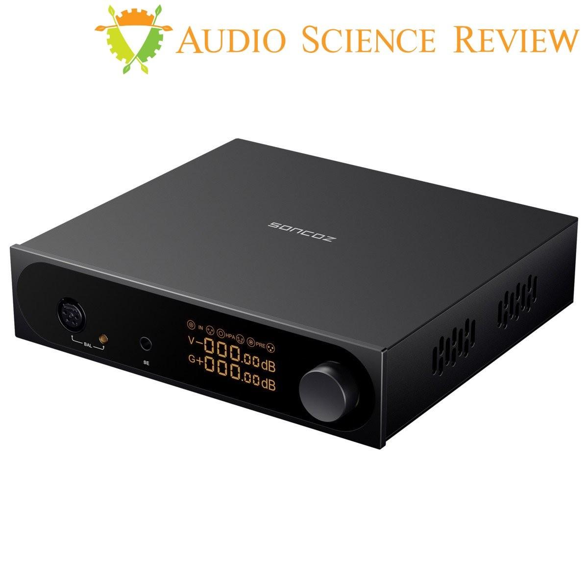 SONCOZ SGA1 Full Balanced Headphone Amplifier Preamplifier