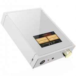 SHANLING EM5 DAC / Amplificateur casque / Préamplificateur AK4493 384kHz DSD256 MQA Silver