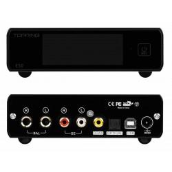 TOPPING E50 Balanced DAC ES9068AS XMOS XU216 MQA 32bit 768kHz DSD512 Black