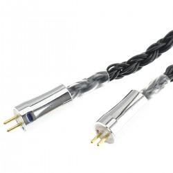 KBEAR Câble Casque Jack 4.4mm vers CIEM 0.78mm Symétrique Cuivre OFC Plaqué Argent 1.2m
