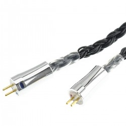 KBEAR Headphone Cable Jack 4.4mm to CIEM 0.78mm Balanced Silver Plated OFC Copper 1.2m