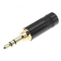 NEUTRIK REAN NYS231LBG Connector Male Stereo Jack 3.5mm Gold Plated Ø6mm (Unit)