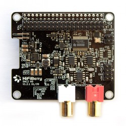 HIFIBERRY DAC2 HD Module DAC pour Raspberry Pi Burr Brown 24bit 192kHz
