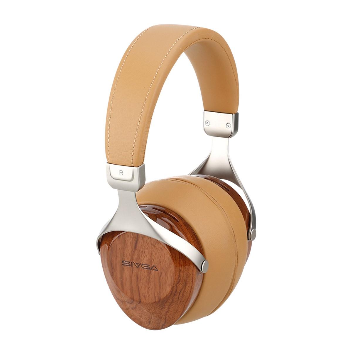 SIVGA ROBIN Dynamic Closed-Back Over-Ear Headphone Ø50mm 32Ω 105dB 20Hz-20kHz Rosewood
