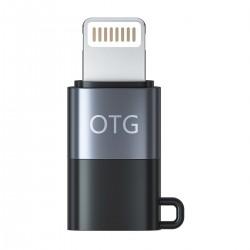 HIDIZS LT03 Adaptateur Lightning Mâle vers USB-C Femelle Plaqué Or