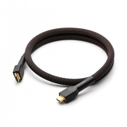 GUSTARD LINE-02 Cable HDMI 2.0 I2S OFC Copper Gold Plated 0.5m