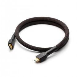GUSTARD LINE-02 Câble HDMI 2.0 I2S Cuivre OFC Plaqué Or 1.5m