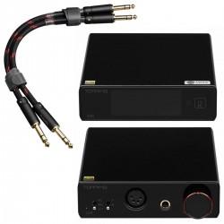 Pack Topping DAC Symétrique E50 + Amplificateur Casque Symétrique L50 + Câbles Jack 6.35mm TCT1