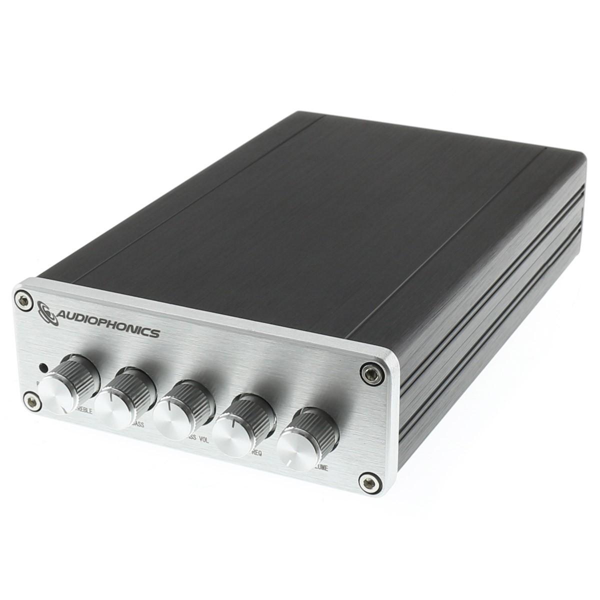 AUDIOPHONICS TPA-SW25F Class D 2.1 Amplifier TPA3116D2 2x50W + 100W 4 Ohm Black