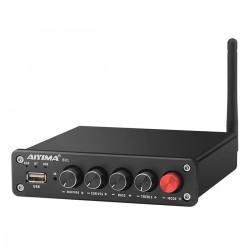 AIYIMA B01 Amplificateur Class D 2.2 Bluetooth 2x50W + 100W 4 Ohm