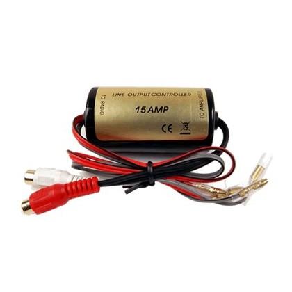 Transformateur audio d'isolation haut-niveau vers bas niveau