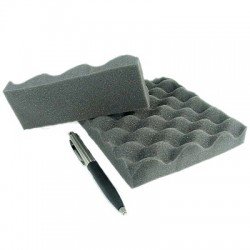 "JANTZEN AUDIO Foam Absorber ""Egg Box"" 40mm 1x1m"