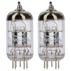 TUNG-SOL 12AX7 Tubes Triodes (Matched Pair)