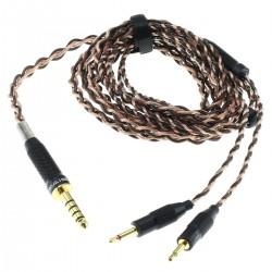 SIVGA Headphone Cable Balanced Jack 4.4mm to 2x Jack 2.5mm Mono 6N OCC Copper 1.8m