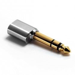 DD DJ65A Adapter Male Jack 6.35mm to Female Jack 3.5mm Gold Plated