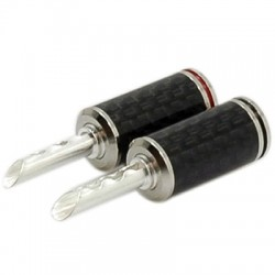 WM-Audio BS-212S Banana BFA plugs Ø 5mm (The pair)
