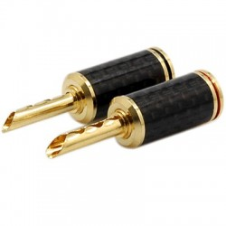 WM-Audio BS-212G Banana Plug BFA Ø5mm (La paire)