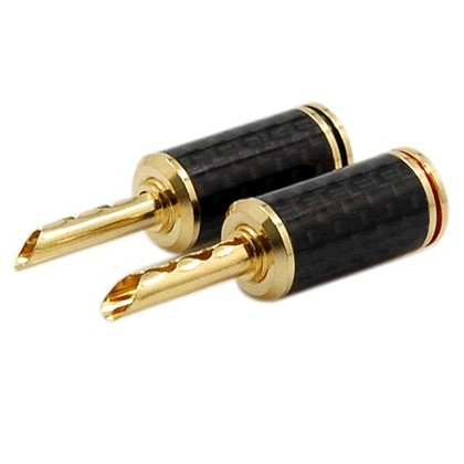 WM-Audio BS-212G Fiches Bananes BFA (la paire) Ø 5.0mm