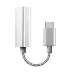 SHANLING UA1 PRO Adaptateur DAC USB-C ES9219C 32bit 384kHz DSD256 80mW 32 Ohm Argent
