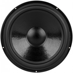 DAYTON AUDIO DS315-8 Speaker Driver Woofer Aluminum 120W 8 Ohm 91dB 25Hz - 2500Hz Ø30.5cm