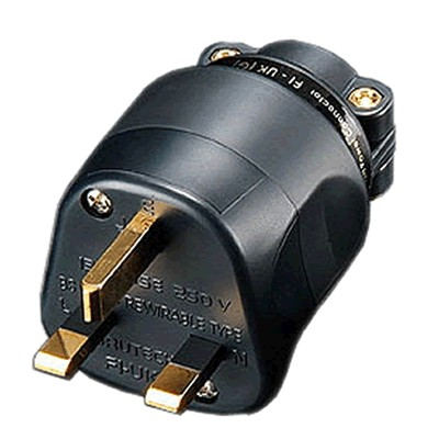 FURUTECH FI-UK1363 (G) Connecteur Secteur UK plaqué Or Ø 20mm