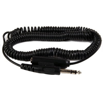 Extension cable Jack 6.35mm Male to Female spiral twisted 5m