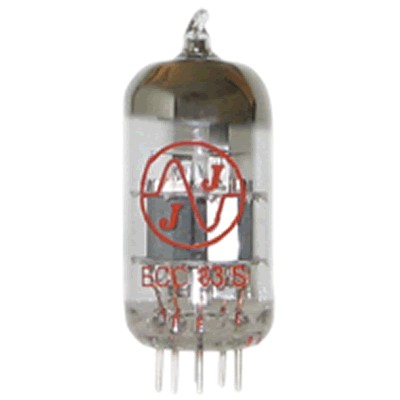 JJ ELECTRONICS 12AX7 / ECC83 / 7025/5751 / 6N2P New Tube