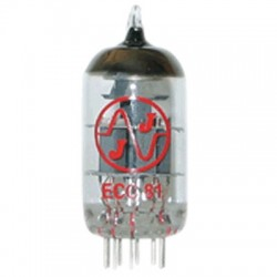 JJ ELECTRONICS 12AT7 / ECC81 New Tube
