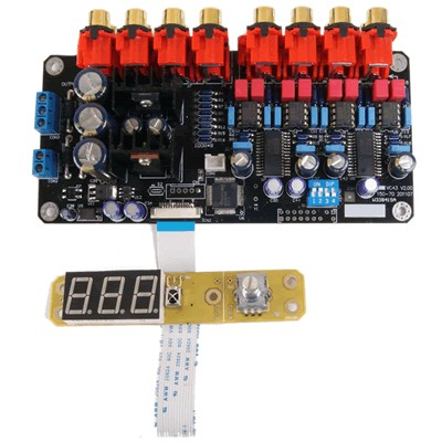 AUDIOPHONICS PGA-8CH - 8 Input volume control module PGA4311