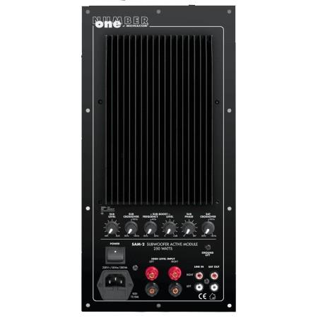 Subwoofer amplifier module Monacor SAM-2 250W