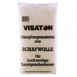 Visaton Lamb's Whool Speaker Absorbent 125g