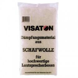 Visaton Lamb's Whool Absorbant pour enceintes 125g