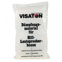 VISATON Absorbant Laine Polyester pour Enceintes 125g