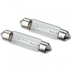MONACOR PL-2418 Shuttle Bulbs 18W 24V (x2)
