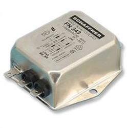 SCHAFFNER FN343-10-05 - Filtre Secteur Anti-Parasites 230V 10A