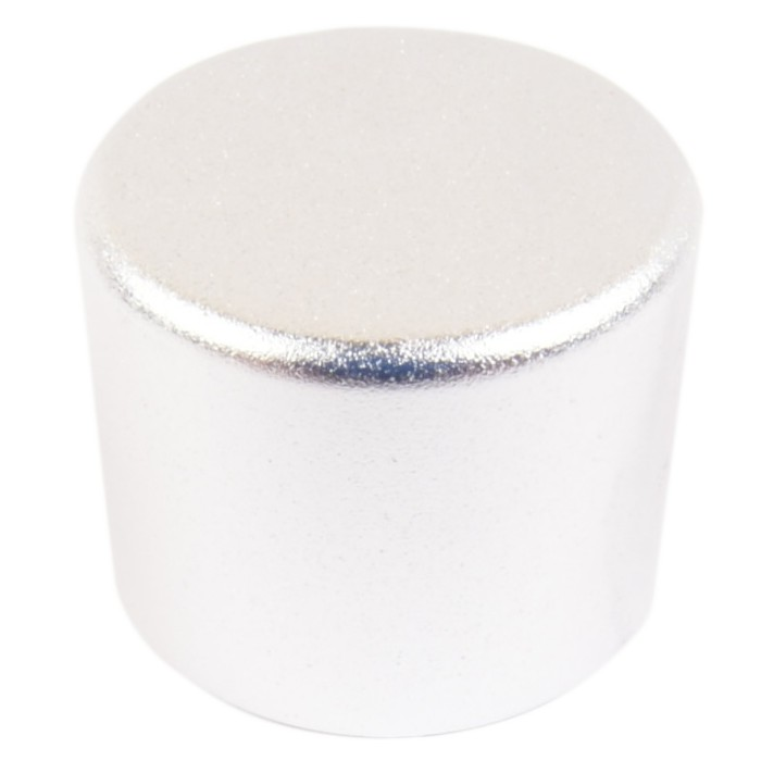 Bouton aluminium 25mm Silver pour kit PGAVOL