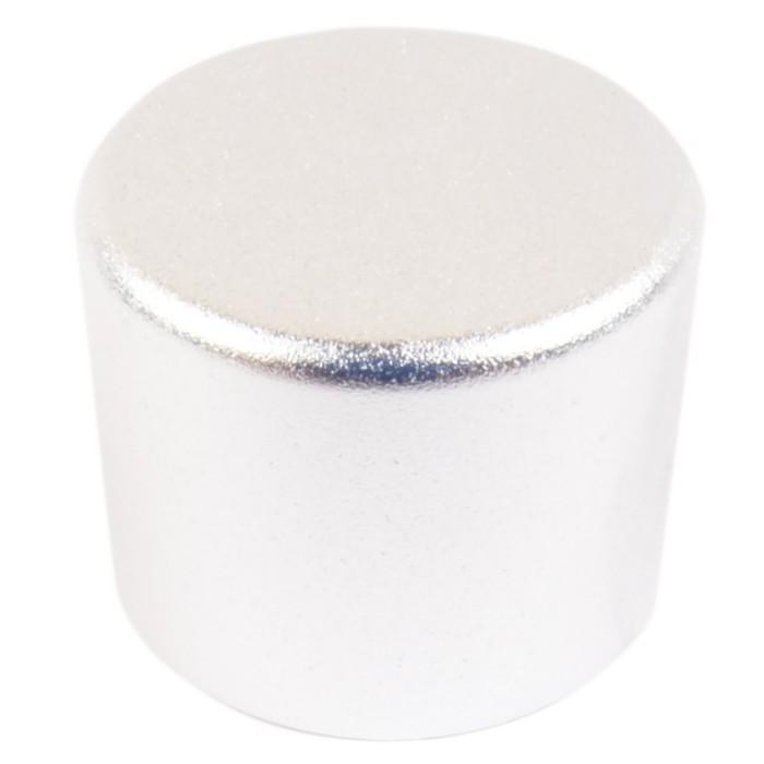 Knob Aluminium 25mm Silver for PGAVOL Kit