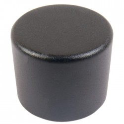 Aluminum Button 25mm Black for PGAVOL kit