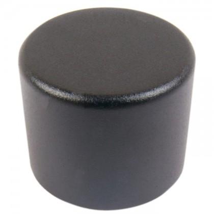 Bouton aluminium 25mm Black pour kit PGAVOL