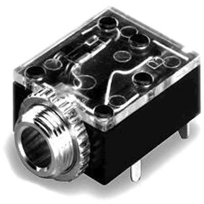 Switchcraft 35RAPC2B Embase Jack 3.5mm Stéréo PCB (Unité)